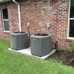 Residential Air Conditioning Heading AC Installation